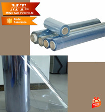 Normal Clear PVC Plastic Cover Film, Pattern Flexible PVC Sheet