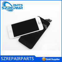 Colorful Front Screen Outer Glass Lens Cover Replacement For Apple for iPhone 5 Lens