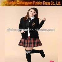 custom design school girl sex uniform