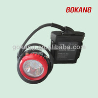 Atex/CE approved LED led mining cap light for miners hard hat