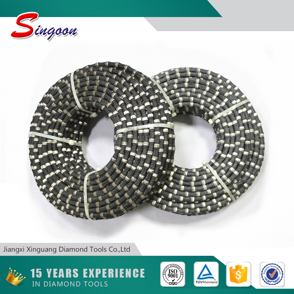 Fast Production Marble Cutting Diamond Wire Rope
