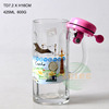wholesale 425ML beer glass mug with handle and good quality