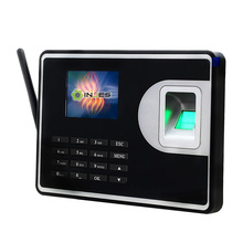 INJES 3000 User TCP/IP WIFI fingerprint password storage device RFID online time attendance system