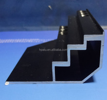 6000 Series anodized aluminum frame profile for lightbox