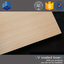 8mm Waterproof Fiber Cement Textured Wall UV Board Base On Calcium Silicate Board