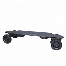 Dual motor inflatable complete electric mountainboard glider skateboard
