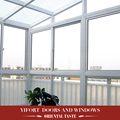 new prefabricated aluminium frame garden glass house