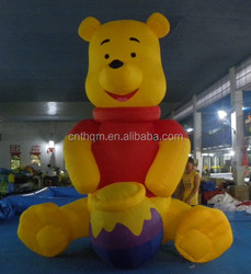 giant inflatable bear,6m inflatable polar bear