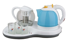 Electric Tea Kettle Set 2011 with tea pot