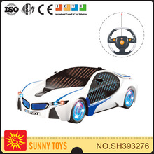 popular 1:18 car with 3D light and music