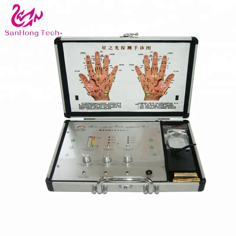DHL Free shipping hand scanners acupuncture diagnosis meridian health analyzer therapy <strong>device</strong>