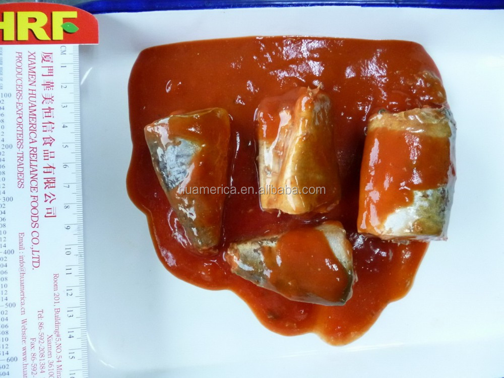 425g Canned Mackerel in tomato sauce