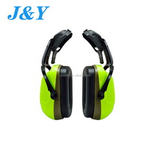 Popular adjustable helmet colorful ear foldable custom plastic mens earmuffs frame plug shell 27db noise cancelling sleeping