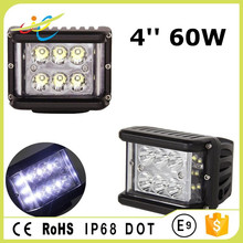 2017 New Arrival offroad auto light 4inch 60W Cree Flood spot led driving work light 12V 24VDC