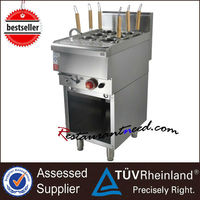 K252 400/600 Series Gas/Electric Industrial Pasta Cooker With Cabinet