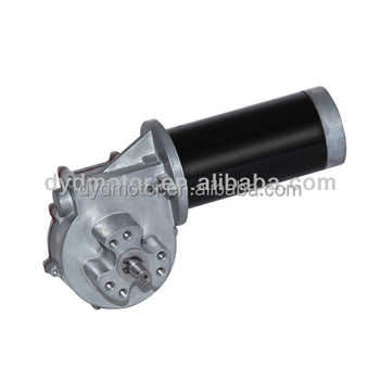 63zy 93jw 12v 24v 60w Dc Motor With Worm Gear Reducer View 12v 60w Dc Motor Dyd Motor Product