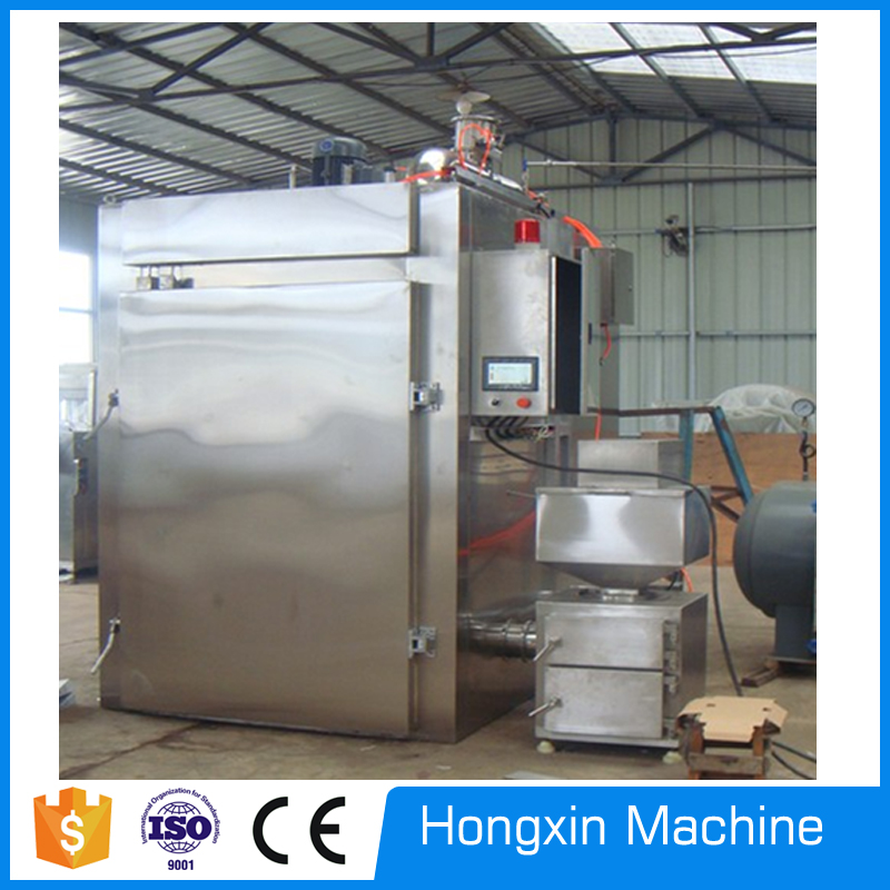 stainless steel smoking machine, electric smoking oven machine, meat smoke oven for sale