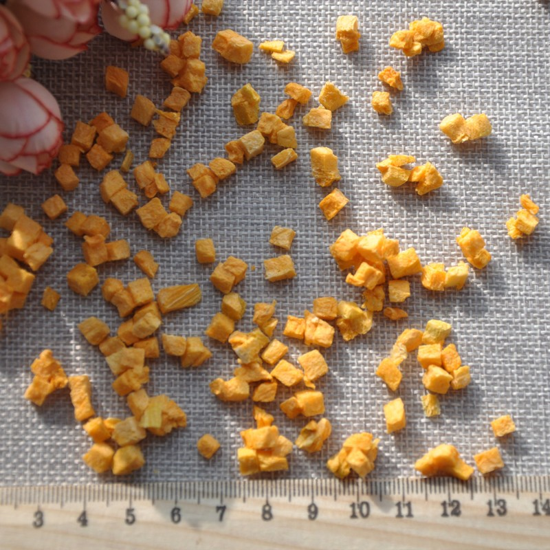 nan gua ding organic dehydrated pumpkin dried pumpkin pieces