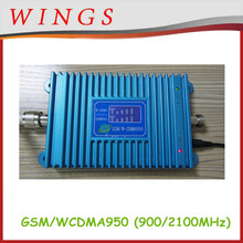 Most Popular Fantastic 2G 3G 900MHz 2100MHz GSM WCDMA dual band signal booster