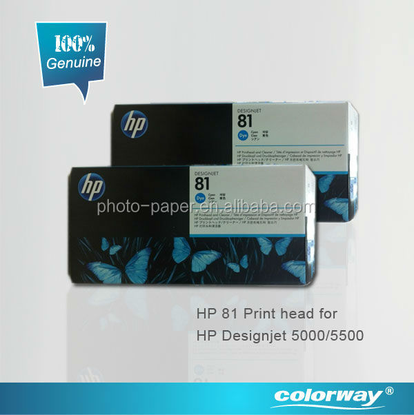 HP81 Original Ink Cartridge (genuine from Singapore,wide format printer HP Designjet 5000/5500 print head
