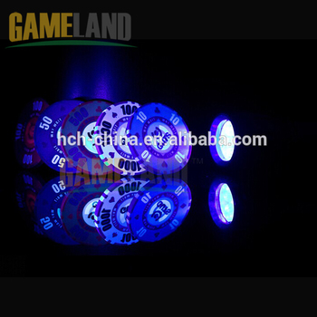10g Custom Ceramic Gambling Chips With Anti-Fake Technology