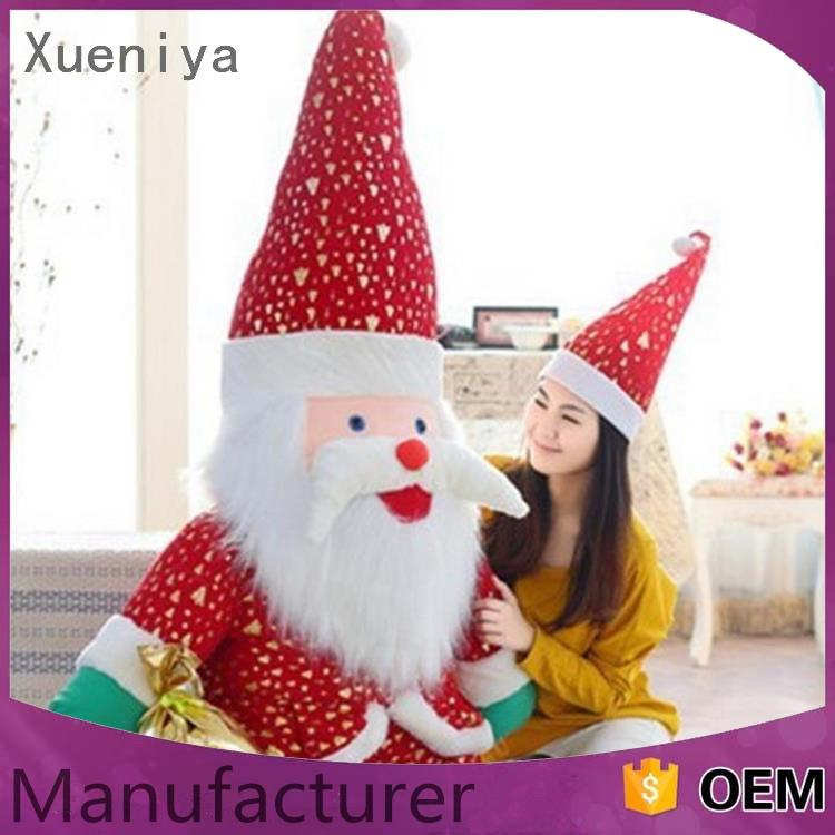 christmas decoration Customized small red christmas santa claus decoration