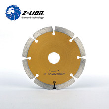 China 4'' Wet Dry Diamond Blade Cutting Disc for Angle Grinder