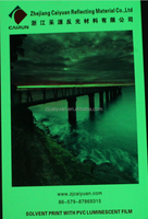 CY Printable Photoluminescent Film Glow in the Dark Sticker Paper