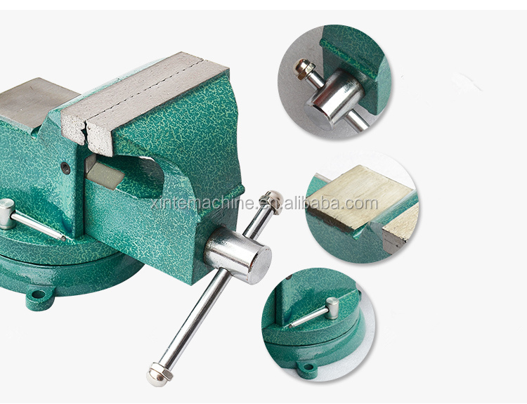 5 inch cast steel bench vise