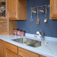 white countertops solid surface lows bathroom countertops