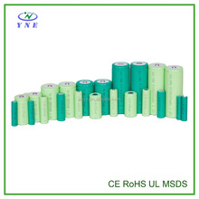 Nickel Metal hydride rechargeable battery 1.2V D 4000mAh