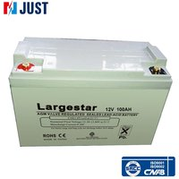 2015 12v 100ah dry charged lead acid battery for solar