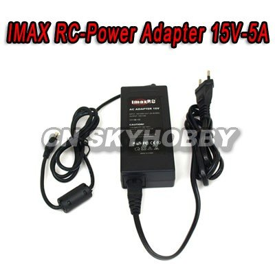 ImaxRC 15V-5A Power Adapter for rc hobby