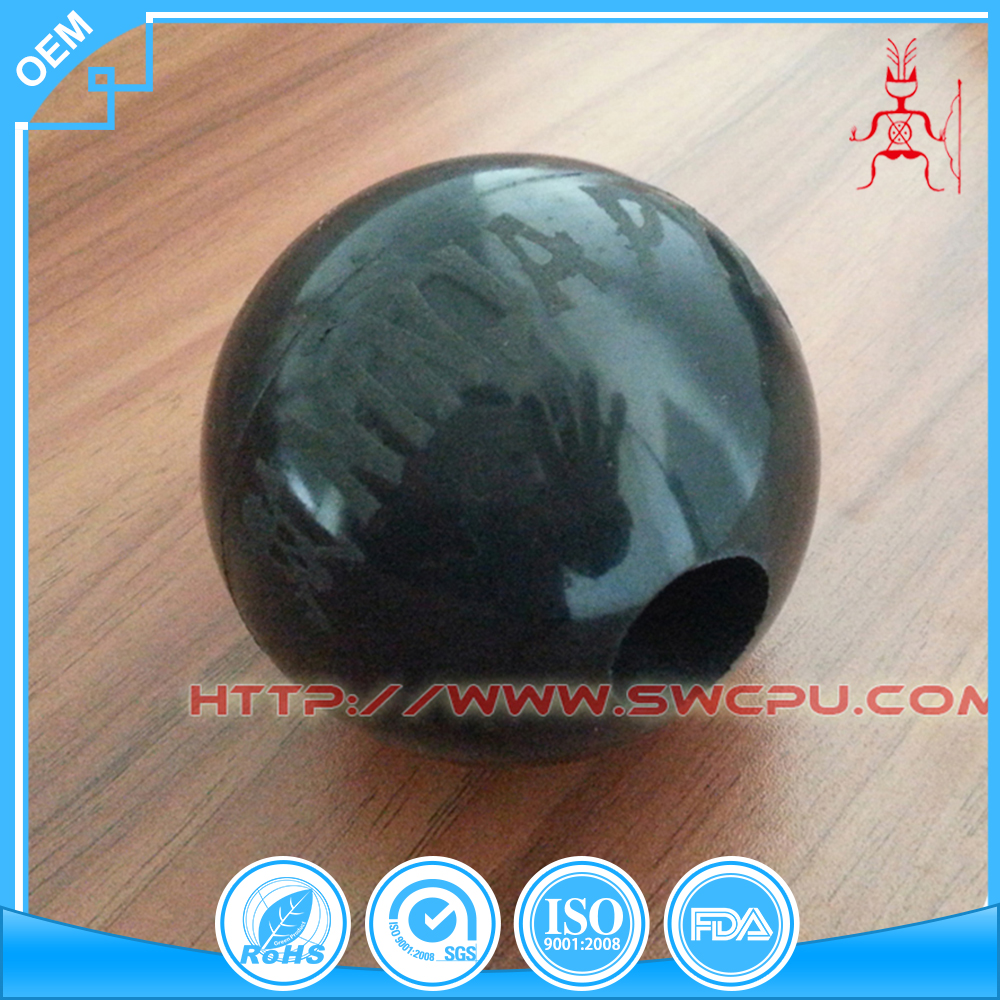 Different hardness Rubber suction ball with hole