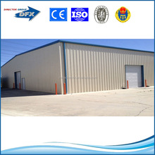 Cheap mobile prefab house steel frame building store room warehouse