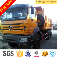 Free Loading Cheap Price 25T 340hp 6x4 Beiben Heavy Duty Dump Truck