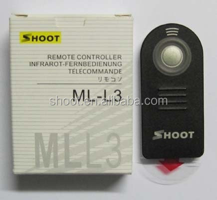 Protable IR Remote Control Signal for Nikon ML-L3 D90 D5000 D80 D70s D50 D40