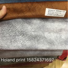 hign quality holand velvet with print pattern for sofa