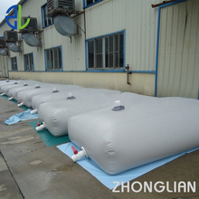 Large bulk Industrial PVC Water Storage Bladder Container high grade for sale