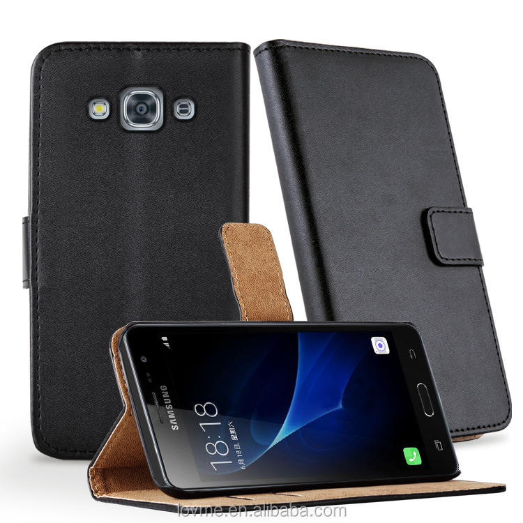 Wallet Pu Leather Card Slot Stand Phone Case Cover For Samsung Galaxy J3 Pro
