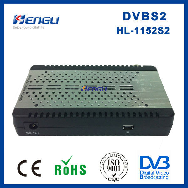 New products MPEG4 H.264 full HD digital mini dvb-s2 FTA satellite receiver