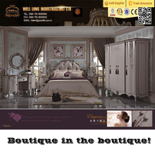 2016 newest Unique design Louvre palace style furniture ,European classic style bedroom set, Romantic bedroom furniture