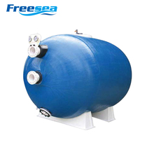 Underground Integration fiberglass pool water filter system