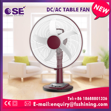 New products DC 16inch rechargeable table fan price