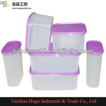 Plastic mold factory wholesale supply 2013 any sizes plastic storage case with handle plastic box mold