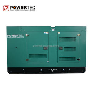 isolated power supply 22kW POWERTEC Diesel generator Cummins engine