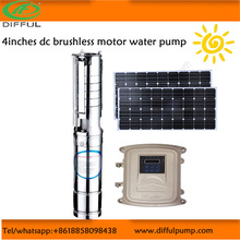 4inches solar power water pump/mini solar battery operated water pumps / mini dc motor water pump