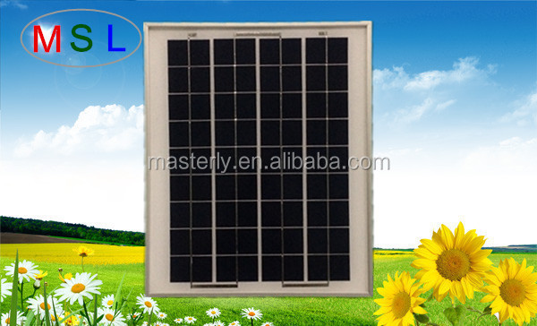Sun power solar panel manufacturers in china 10W 18v