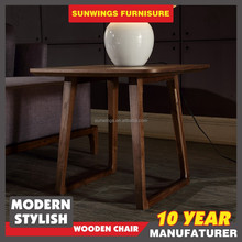 Simple Very Cheap Price Small Square Wood Lamp Table
