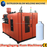 Automatic 250ml 500ml 1liter small bottle plastic blow molding machine